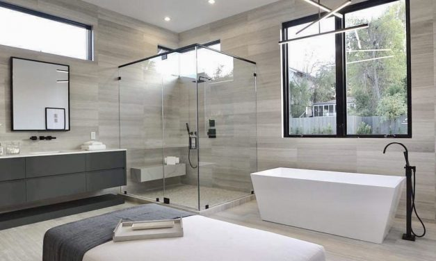 BATHROOM HUES & MODERN RENOVATION